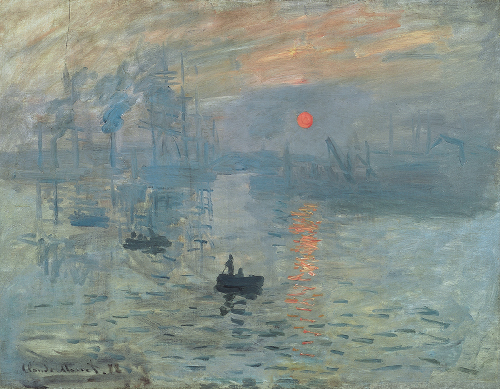 painting impressionism is named for