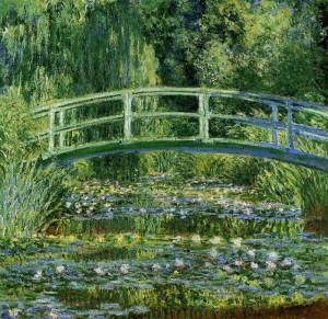 Monet Water Lilies and Japanese Bridge