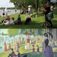 Real Sunday Afternoon on the Island of La Grande Jatte