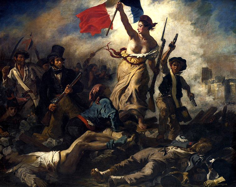 Liberty Leading the People, by Eugene Delacroix