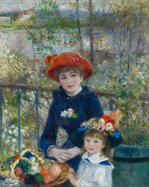 Two Sisters, by Pierre Auguste Renoir