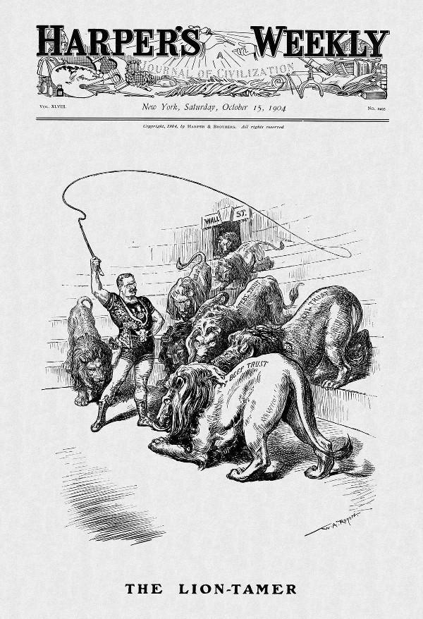 Harpers Weekly Roosevelt