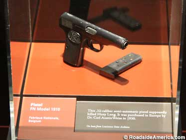 Gun that murdered Huey Long