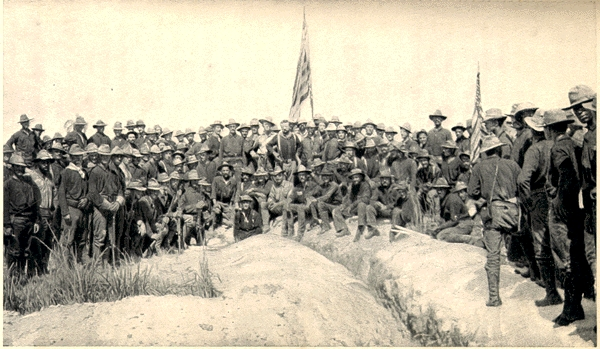 SanJuan Heights US Army July 1898 Victors Kettle Hill