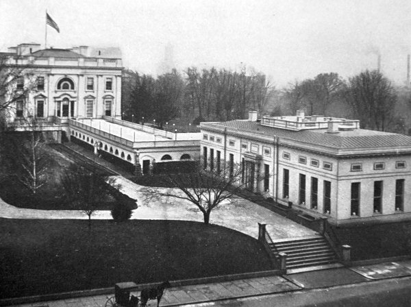 TR's executive office building, 1903