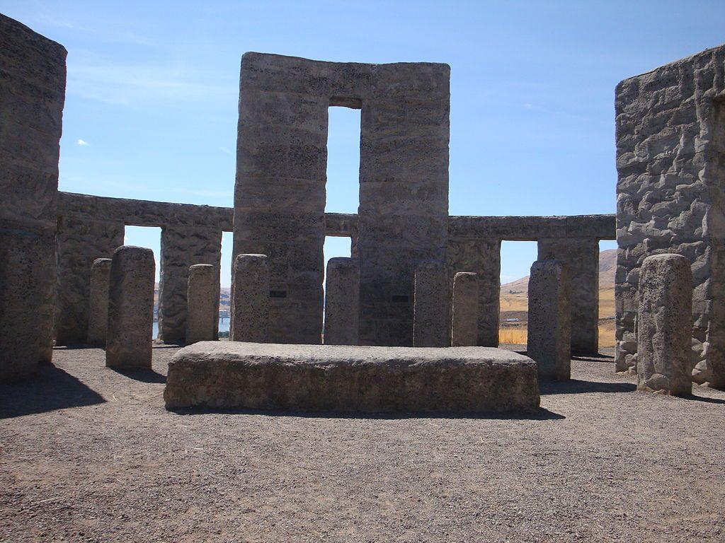Altar Inside the Maryhill Stonehenge Replica