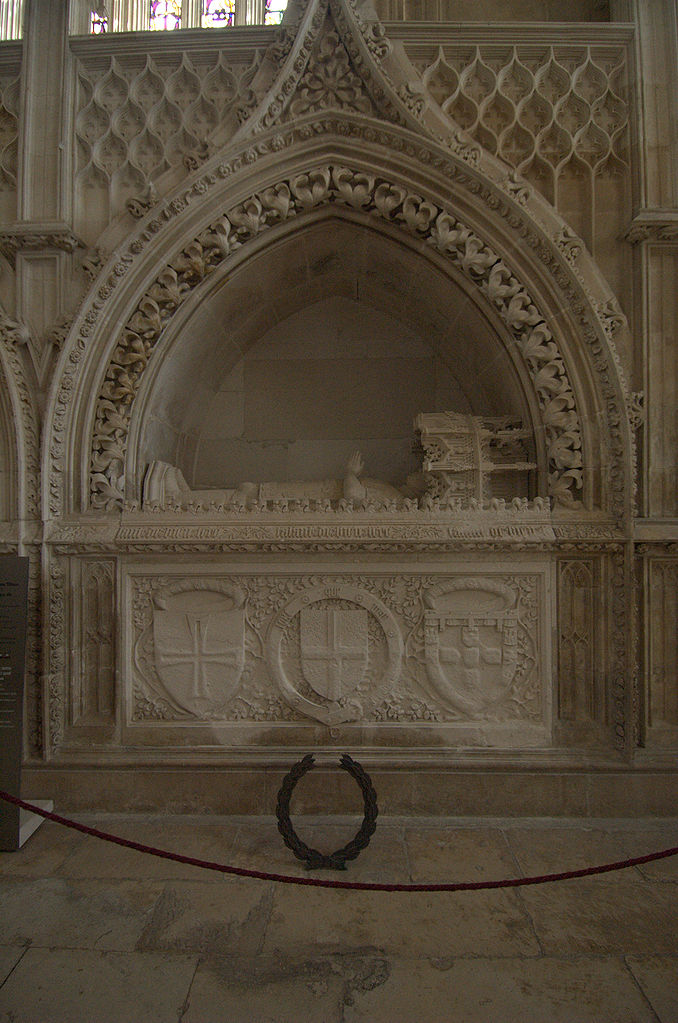 Henry The Navigator's tomb in the Monastery of Batalha