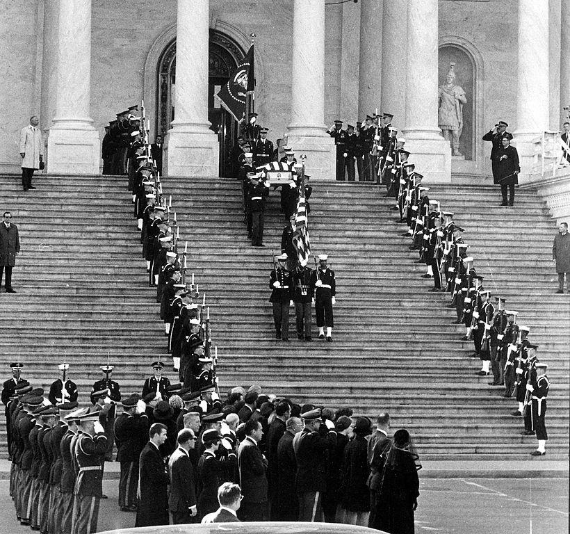 Eisenhower's funeral service.