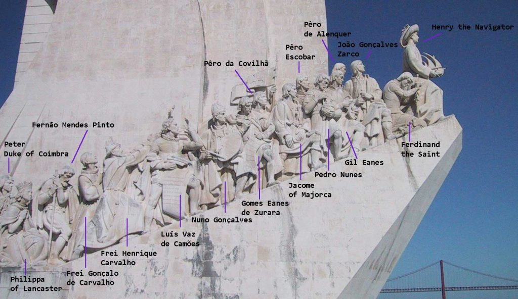 Monument to the Discoveries West Side