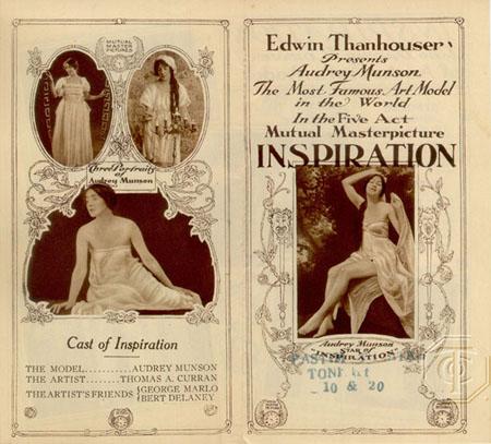 Inspiration starring Audrey Munson