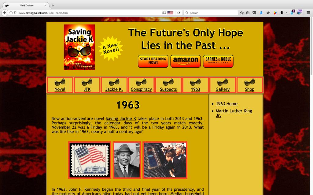 Saving Jackie K - Book Site