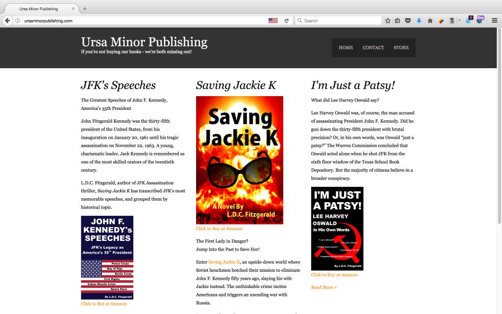 Ursa Minor Publishing - Book Publisher