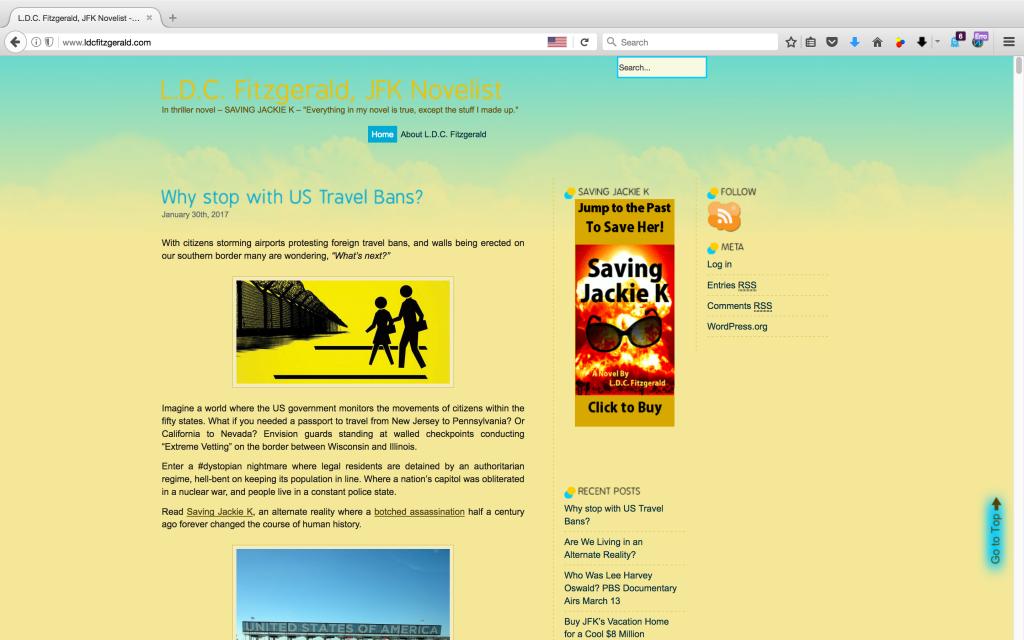 LDC Fitzgerald - Author Blog