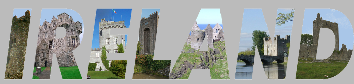 Ireland Castles Tee Shirt