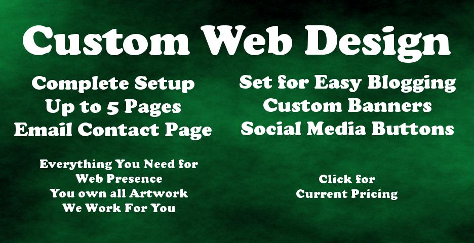 Custom Web Design by Allwood Graphics